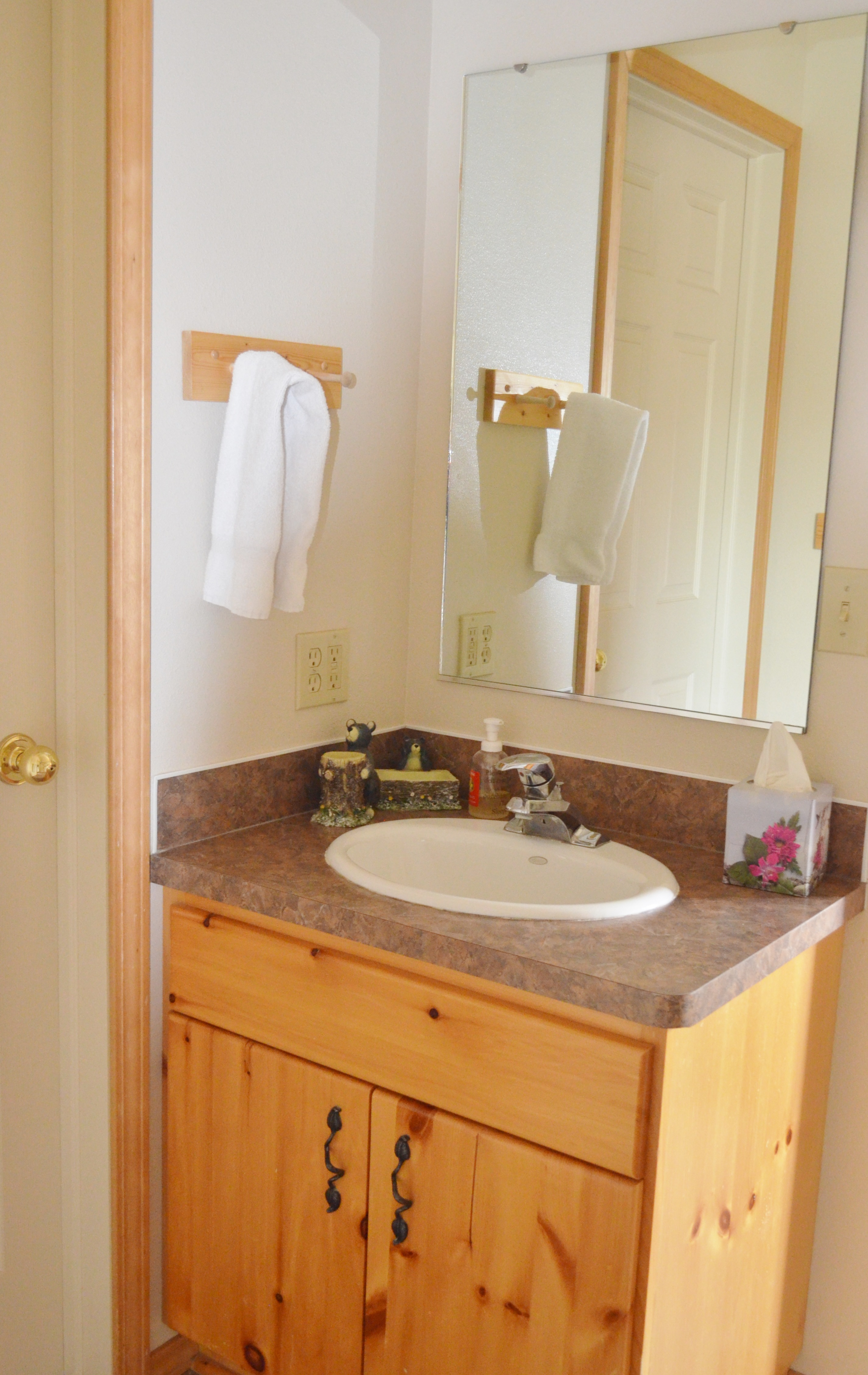 Bear Creek Bathroom Area