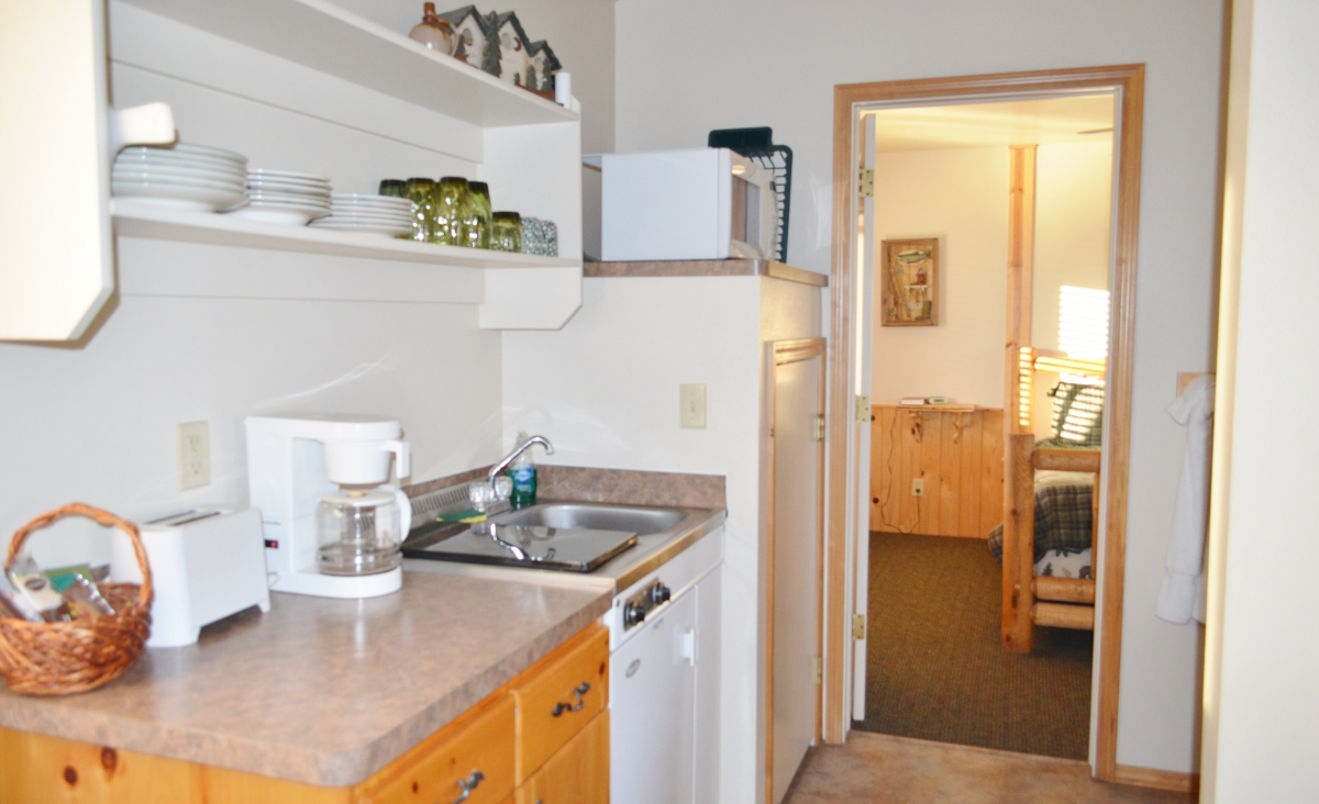 Fall Creek Kitchenette to Bedroom 2