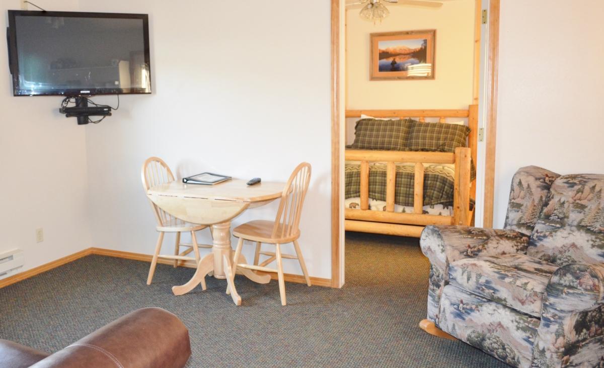 Fall Creek Living Room to Bedroom