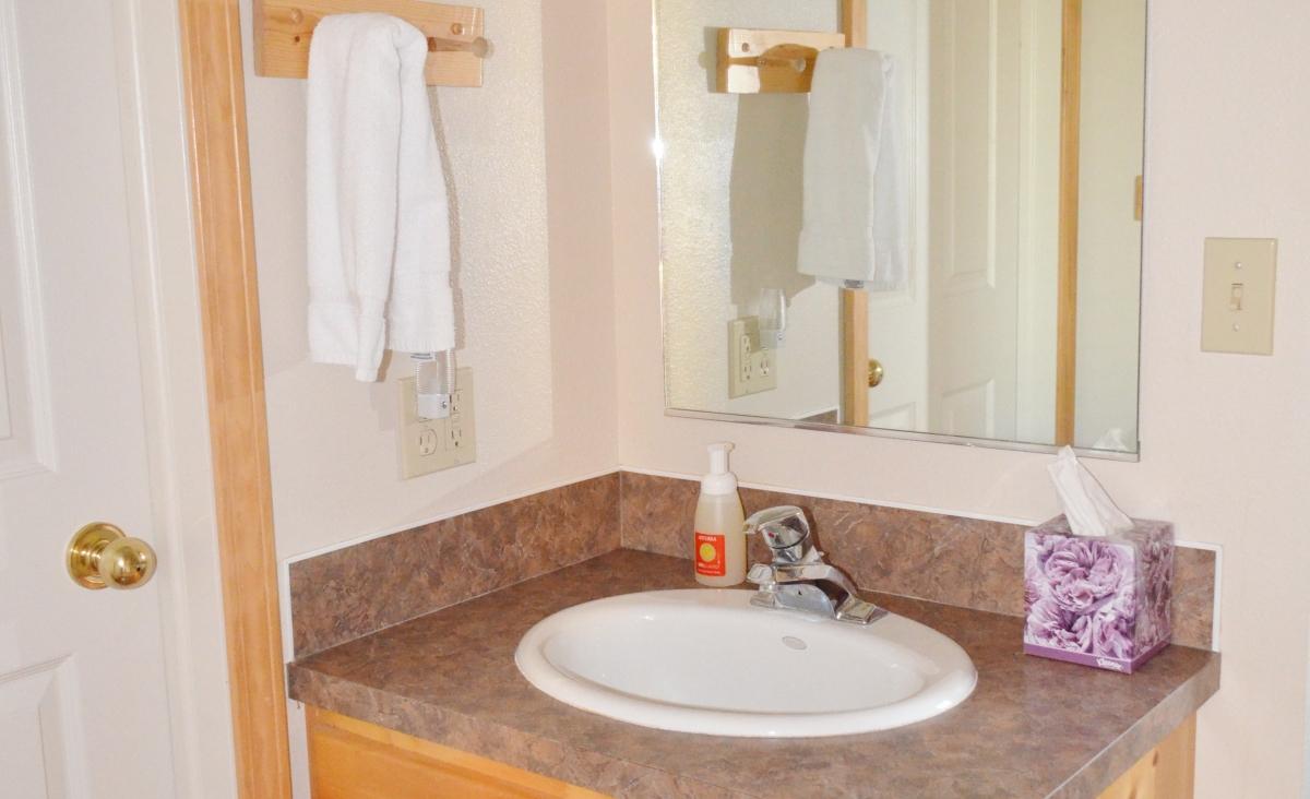 Little Elk Creek Bathroom Sink