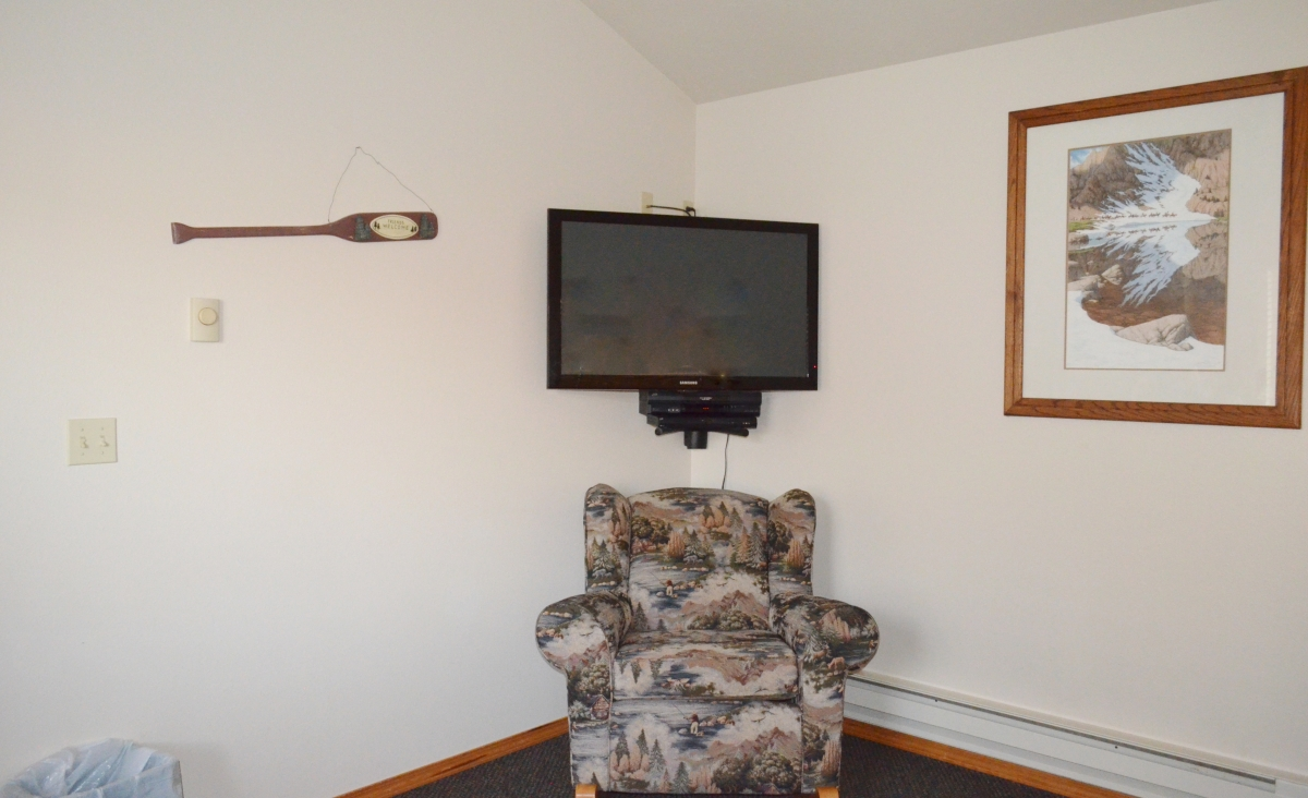 Little Elk Creek TV Corner